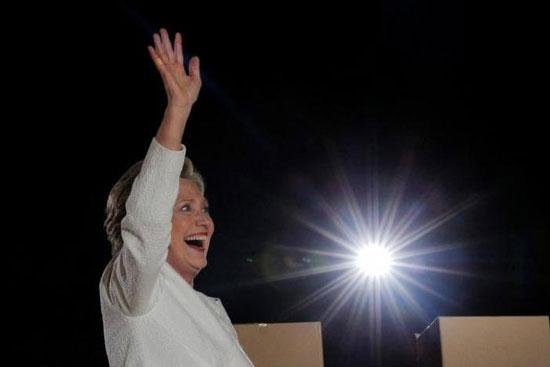 Хилари Клинтон током кампање, Флорида, 1. новембар 2016. (REUTERS/Brian Snyder)