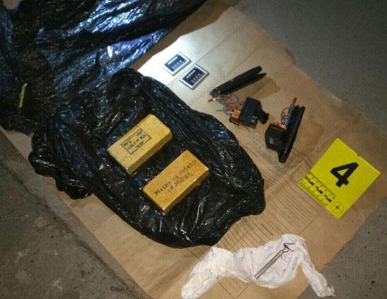 Пронађен експлозив у гаражи у Новом Београду (Фото: МУП)