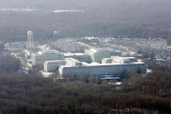 Поглед из ваздуха на седиште ЦИА у Ленглију (REUTERS/Jason Reed)