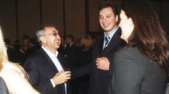 Мишковић и Вучић се никада нису срели (Извор: НСПМ)