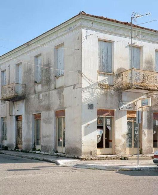 Стара зграда на централном тргу једног места у Елису (Фото: Antonis Theodoridis)