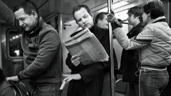 Крадљивац у метроу (Извор: Polemia.com)
