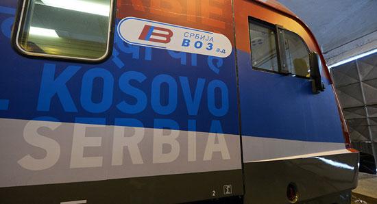 Воз који треба да саобраћа на линији Београд — Косовска Митровица (Фото: Танјуг/Тања Валич)