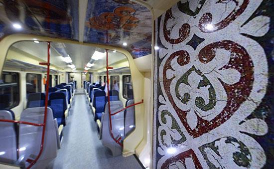 Унутрашњост воза (Фото: Танјуг/Тања Валич)