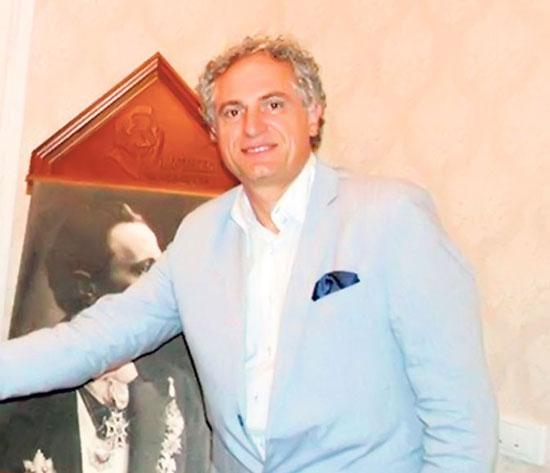 Небојша Нушић, чукунунук Бранислава Нушића (Фото: Лична архива)