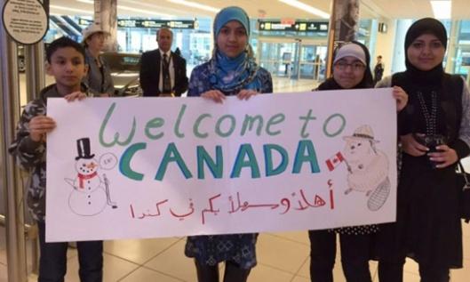 Добродошлица сиријским избеглицама у Канаду (Фото: Angela Johnston/CBC)