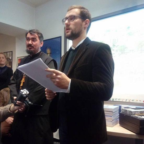 Прота Ненад Андрић и мр Дарен Миливојевић