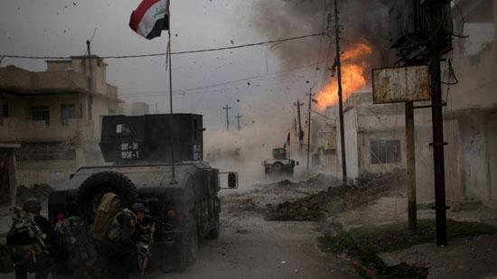 Борбе у Мосулу (Фото: Ројтерс)