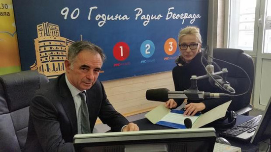 Милорад Пуповац и Ана Томашевић