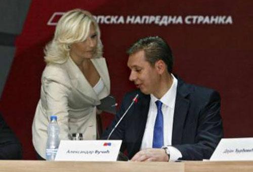 З. Михајловић и А. Вучић (Извор: Слободни медији)