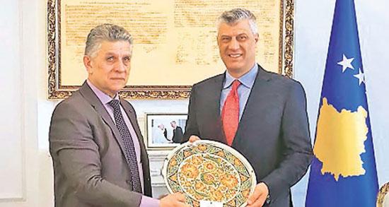 Сулејман Угљанин и Хашим Тачи (Фото: СДА)