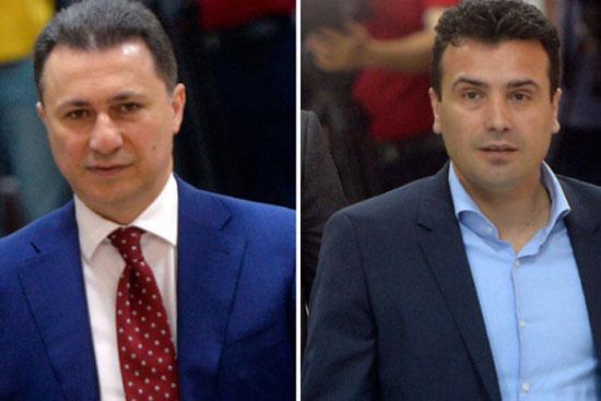 Никола Груевски и Зоран Заев