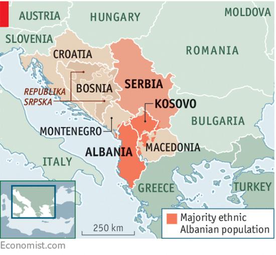 Economist Ako Kosovo I Srbiјa Razmene Teritoriјe Proces Se Neћe