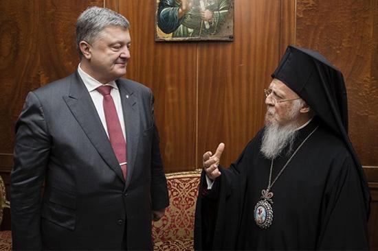Порошенко од патријарха Вартоломеја тражи аутокефалну цркву у Украјини