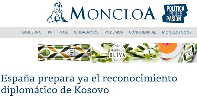 Шпанија ће признати Косово ако Београд и Приштина постигну споразум