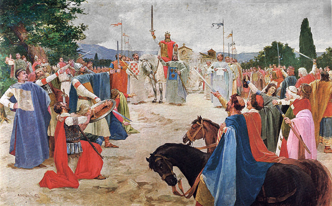 Хрвати и Ватикан фалсификовали хрватског краља Томислава који никада није постојао!